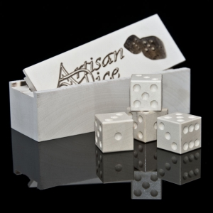 american holly dice with matching box