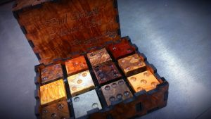 burl wood collector's set