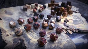 Assorted Burl Dice