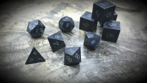 black soapstone polyhedral