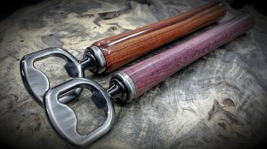 Beer Assistant Purple Heart Honduran Rosewood