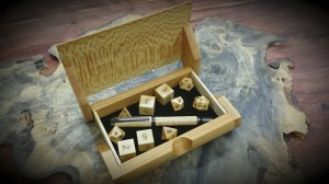 anegrie pen dice and ray jones sycamore box