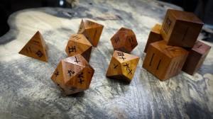 Kanji Polyhedral Set in Chakte Viga