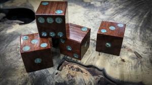 amazon rosewood and turquoise