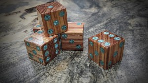tulipwood and turquoise