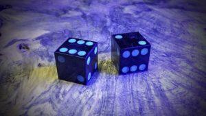 Mpingo with Fusion Blue Aurora Inlay