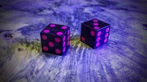 Mpingo with Psychopathic Pink Aurora Inlay