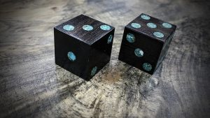 Mpingo with Turquoise Inlay
