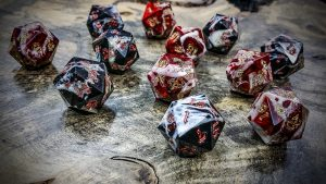 gator jaw bone d20s