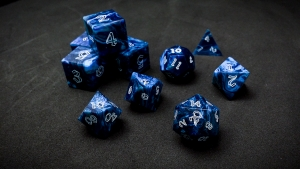 Second Wind Polyhedral Dice - Abyssus