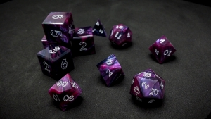 Second Wind Polyhedral Dice - Acinum