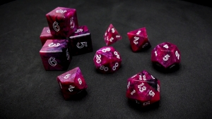 Second Wind Polyhedral Dice - Cerasus