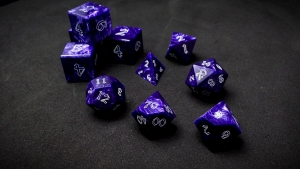 Second Wind Polyhedral Dice - Fulgur