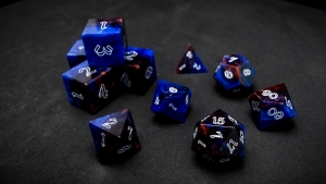 Second Wind Polyhedral Dice - Heros