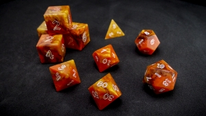 Second Wind Polyhedral Dice - Ignifer