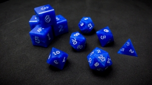 Second Wind Polyhedral Dice - Marium
