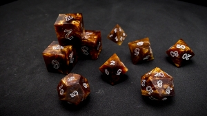 Second Wind Polyhedral Dice - Pyropus