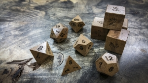 Aniegre Polyhedral Dice