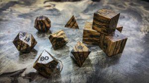 Bocote Polyhedral Dice