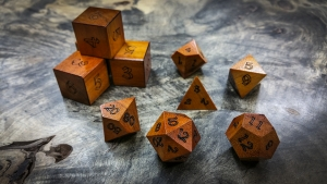 Chakte Viga Polyhedral Dice