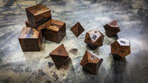 Dalmata Polyhedral Dice