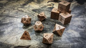 Lyptus Polyhedral Dice
