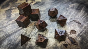 Queenwood Polyhedral Dice