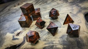 Snakewood Polyhedral Dice