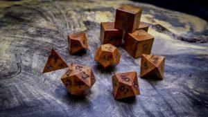 Thuya Burl Polyhedral Set