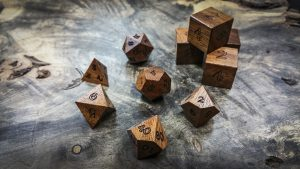 Utile (Sipo) Polyhedral Dice