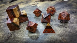 Pau Rossa with Sap Wood Polyhedral Set