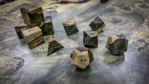 Ziricote with Sap Wood Polyhedral Set