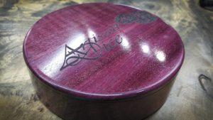 MK X Box in Purple Heart