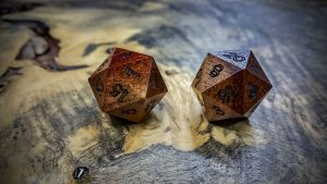 Bloodwood with Sap d20s