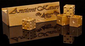 ancient kauri dice