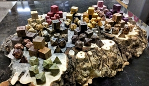 Artisan Dice's Exotic Wooden Polyhedral Dice