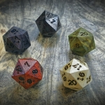Life Counter d20s