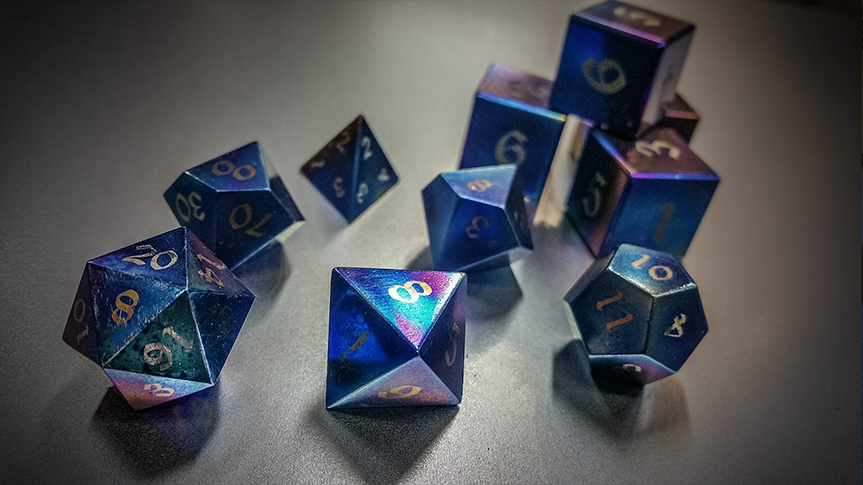 Titanium Dragon's Dice