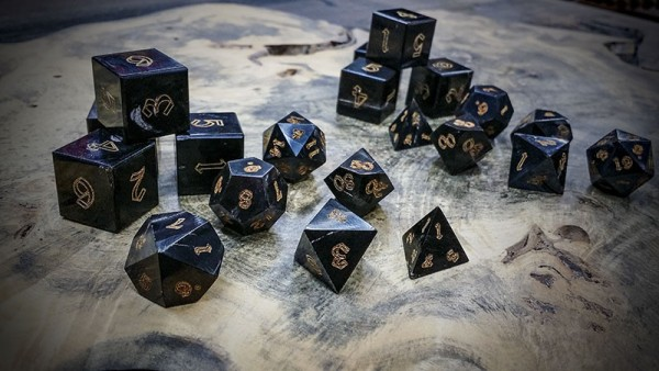 water buffalo polyhedral dice