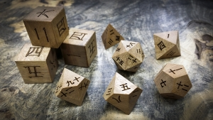 Kanji Polyhedral Set in Anegrie