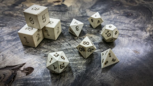 American Holly Polyhedral Dice