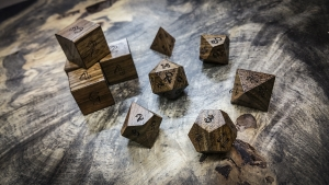 Curly Shedua Polyhedral Dice