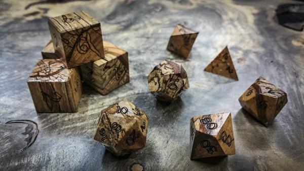 Jicarillo Polyhedral Dice