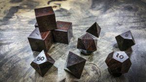 Katalox Polyhedral Dice