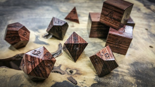 Kingwood Polyhedral Dice