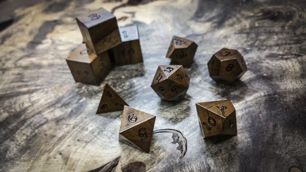 Pau Rosa Polyhedral Dice