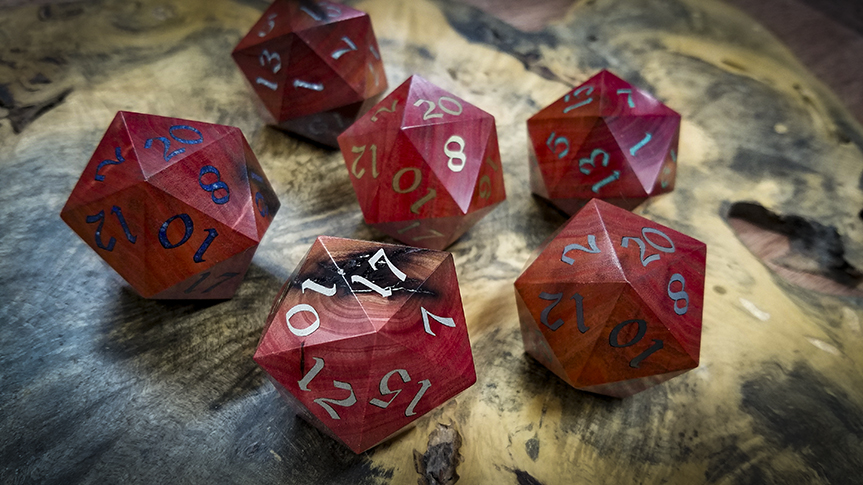 Big Ass Valentine's D20s