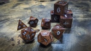 Redwood Burl Polyhedral Set Inlaid with Alumnium