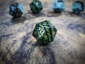Jade and Jet Alpha D20