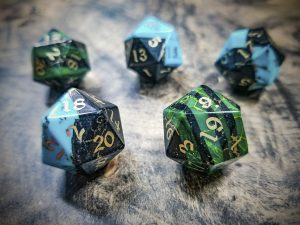 Layered Stone Dice